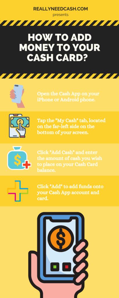 add cash to your Cash App card balance