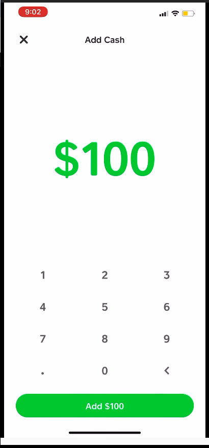 how to add cash to cash app card