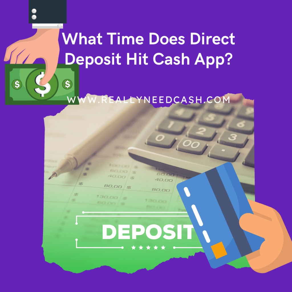 what time does direct deposit hit cash app