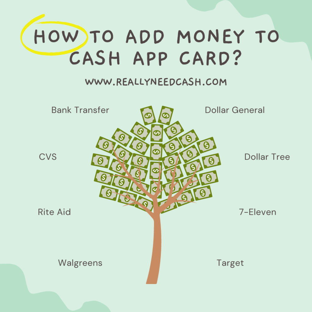 can you put money on a cash app card